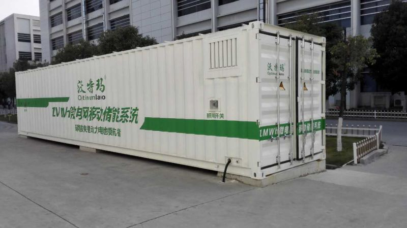 China 1mwh 1000kwh Energy Storage Container Lithium Ion