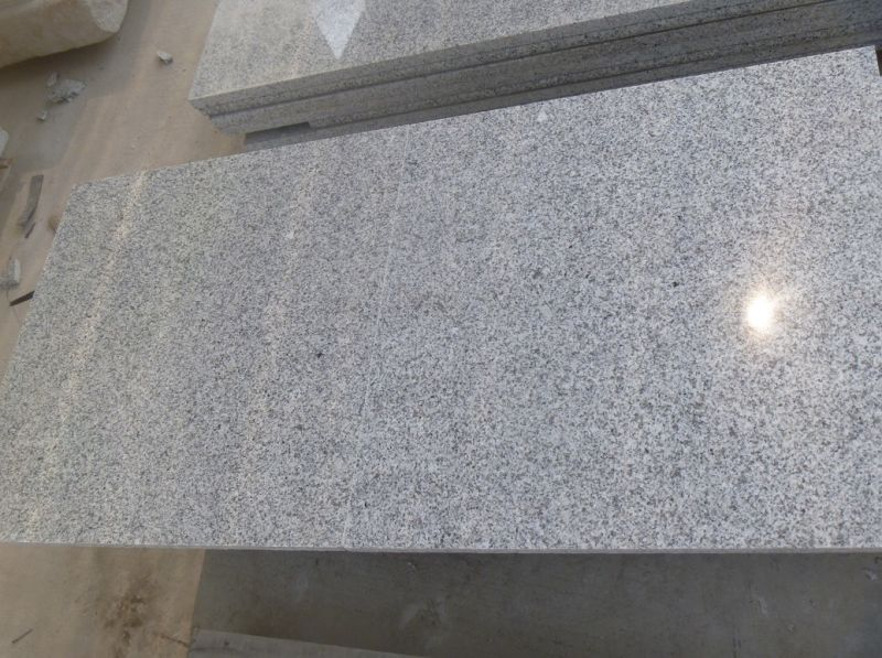 El precio bajo g603 de granito gris claro para los for Precio granito gris