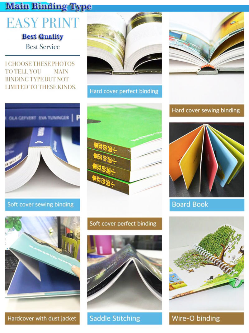 Cheap Comic Book Printing Full Color Softcover Saddle Stitching Binding