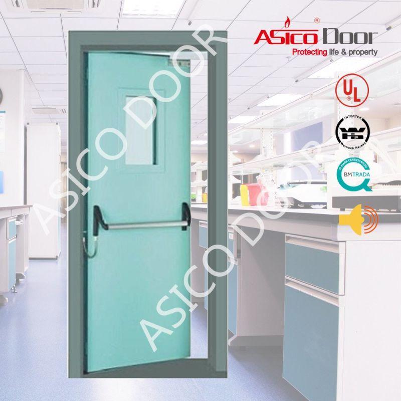 La puerta de metal hueco de la puerta de emergencia Fuego UL – La ...