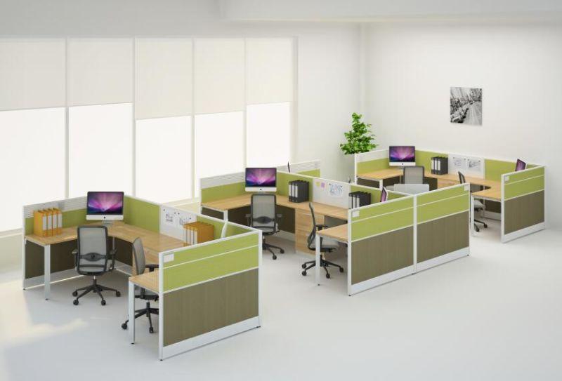 Des cabines de bureau de poste de travail de bureau moderne pour