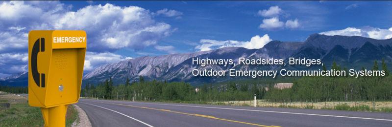 Cuadro de llamadas de emergencia en la carretera resistente a la intemperie la carretera sos - Caser asistencia en carretera telefono ...