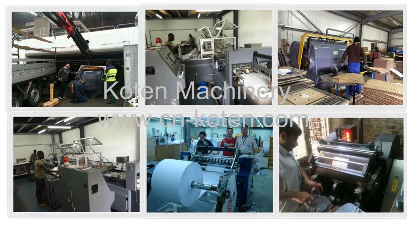Glueless/Water Base/ Hot/Cold BOPP Thermal Film Laminating Machine (Thermal Film Laminator)
