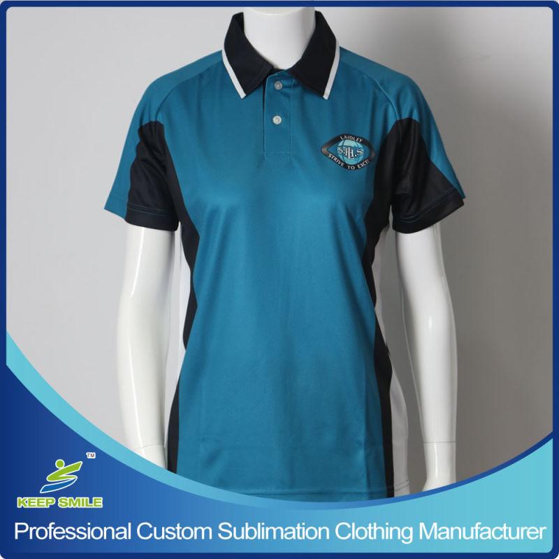 Empresa de sublimação personalizado e uniforme da escola camisa Polo ... c9bffda924e32