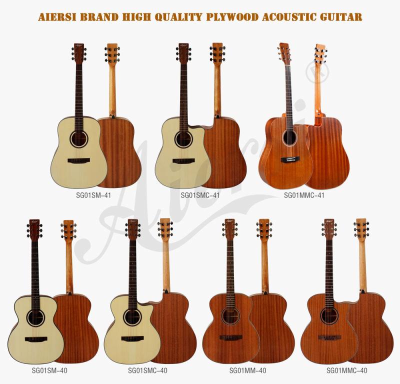 aiersi marque pour la vente de guitare acoustique aiersi. Black Bedroom Furniture Sets. Home Design Ideas