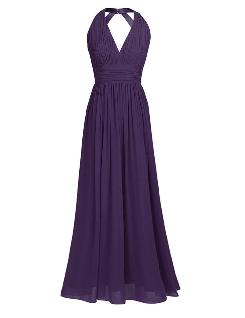Cordón de la línea de un vestido de Prom vestido de noche Bridesmaid ...