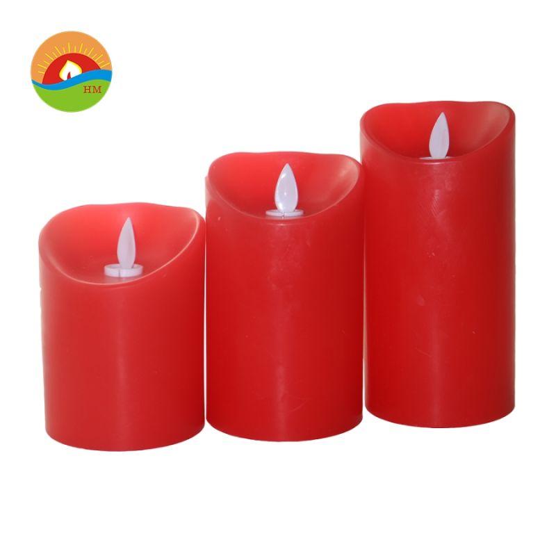 83313119c Cera real de cambio de Color de LED de batería de velas con mando a ...