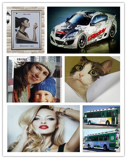 Eco Solvent High Quality Vinyl Media Printing PVC Roll Self Adhesive Media Vinyl Factory Price