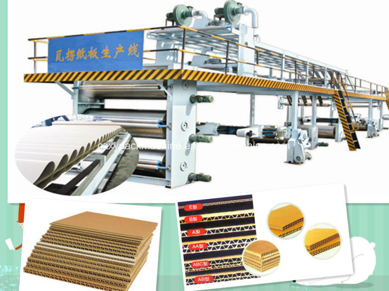 c9951738da98 3 5 7ply automatique usine de fabrication de carton ondulé pour boîte en  carton