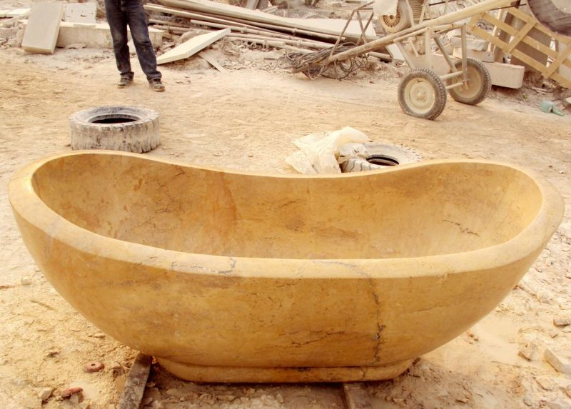 baignoire en marbre baignoire en pierre btb309. Black Bedroom Furniture Sets. Home Design Ideas