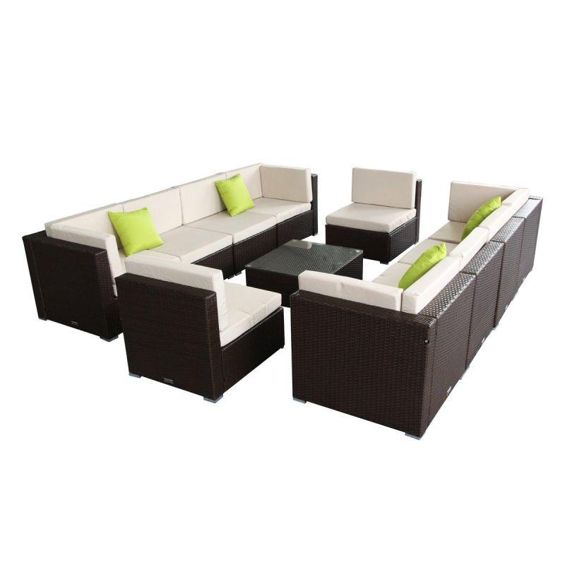 P tio de vime sof cadeira exterior jardim inicial da mesa for Sofa exterior jardim