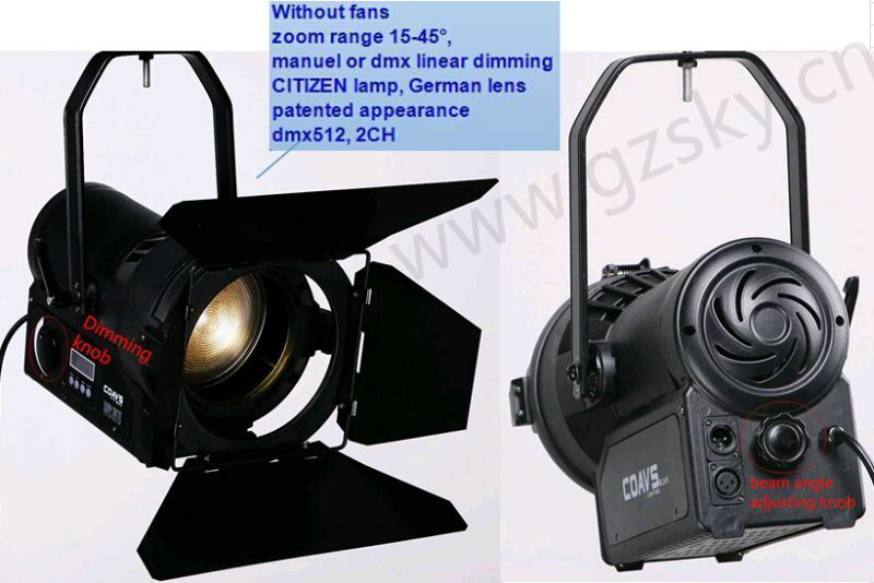 New LED Fresnel Studio Light for Stage Lighting & China New LED Fresnel Studio Light for Stage Lighting - China LED ...