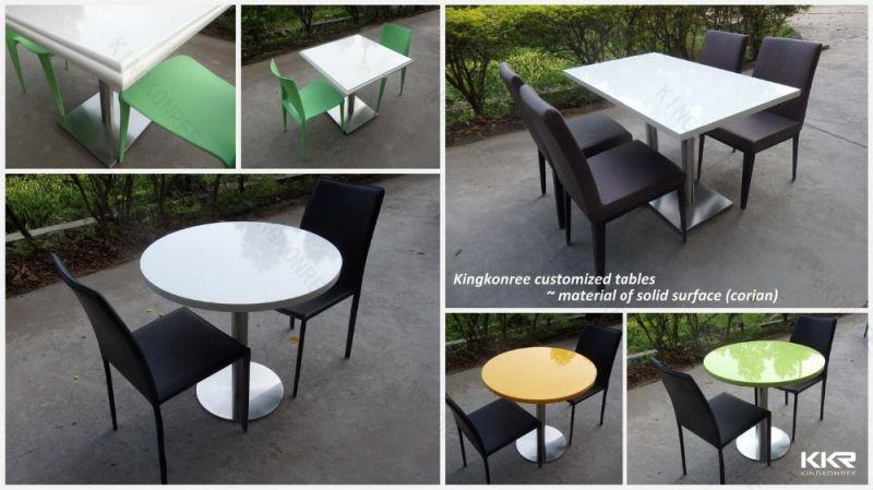 Tabella di pietra bianca del Mcdonald per il ristorante  : White Stone Mcdonald Table for Cafeteria Restaurant from it.made-in-china.com size 800 x 449 jpeg 60kB