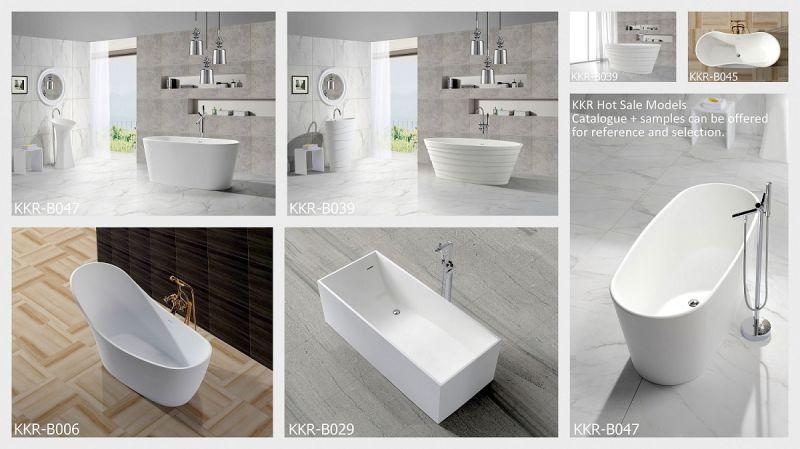 Vasca Da Bagno Freestanding Corian : Vasca da bagno diritta libera di figura ovale di superficie solida