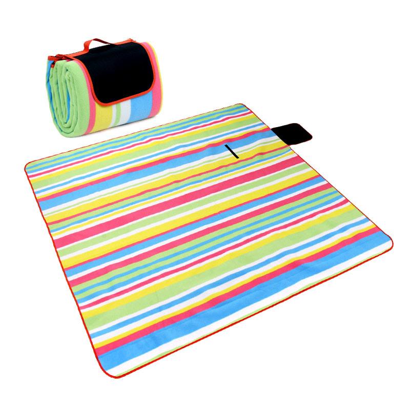 China Outdoor Picnic Blanket Beach Mat Stripe Pattern China