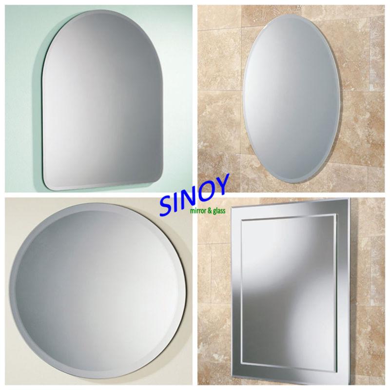 China Qingdao sin enmarcar / Cuarto de baño sin cerco de espejos en ...