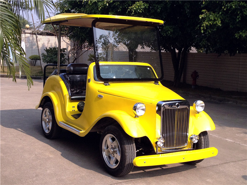 Custom Four Seats Electric Vintage Golf Carts For Sale With Ce Certificate