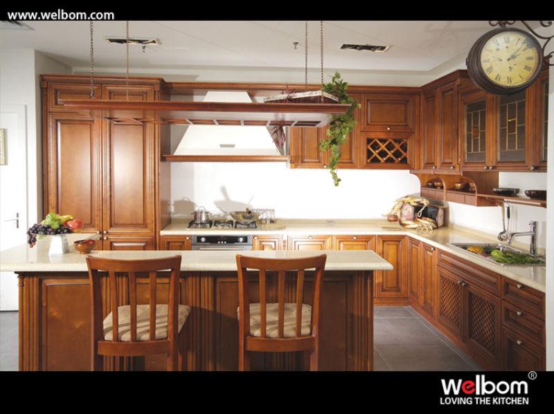 Armario de Cocina de madera de estilo americano – Armario de Cocina ...