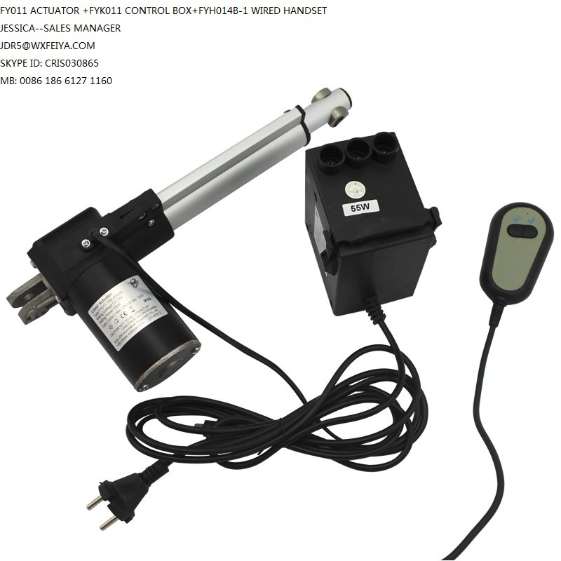 China DC 12V or 24V Electric Linear Actuator with Control Box and