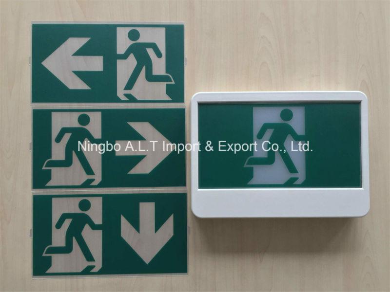 Canada Type 347V/120V Ni-CD Battery Backup LED Running Man Exit Sign