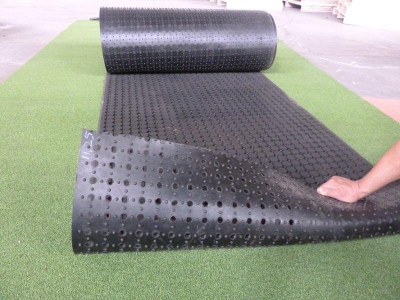 Geperforeerde Rubber Mat.De Rol Geperforeerde Rubber Rubbermat Van De Anti Bacterien Van De
