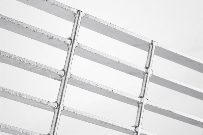 Steel Grating with Serrated Bearing Bar