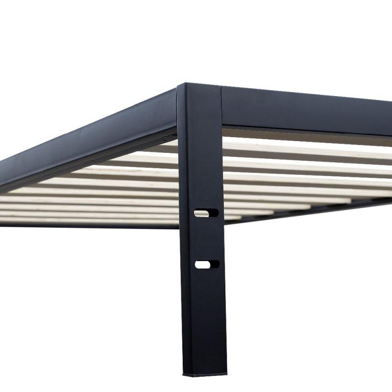 Muebles de dormitorio cama doble king marco de la cama de metal ...