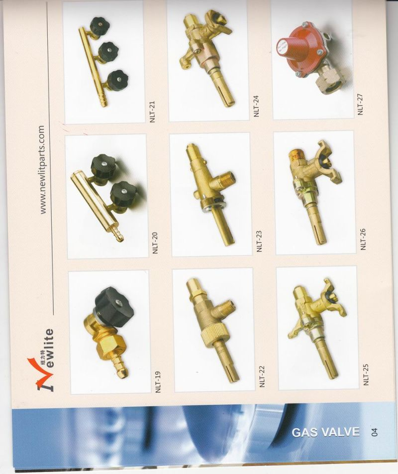 China Brass Valvegas Valveoven Valveoven Partsstove Part Gas