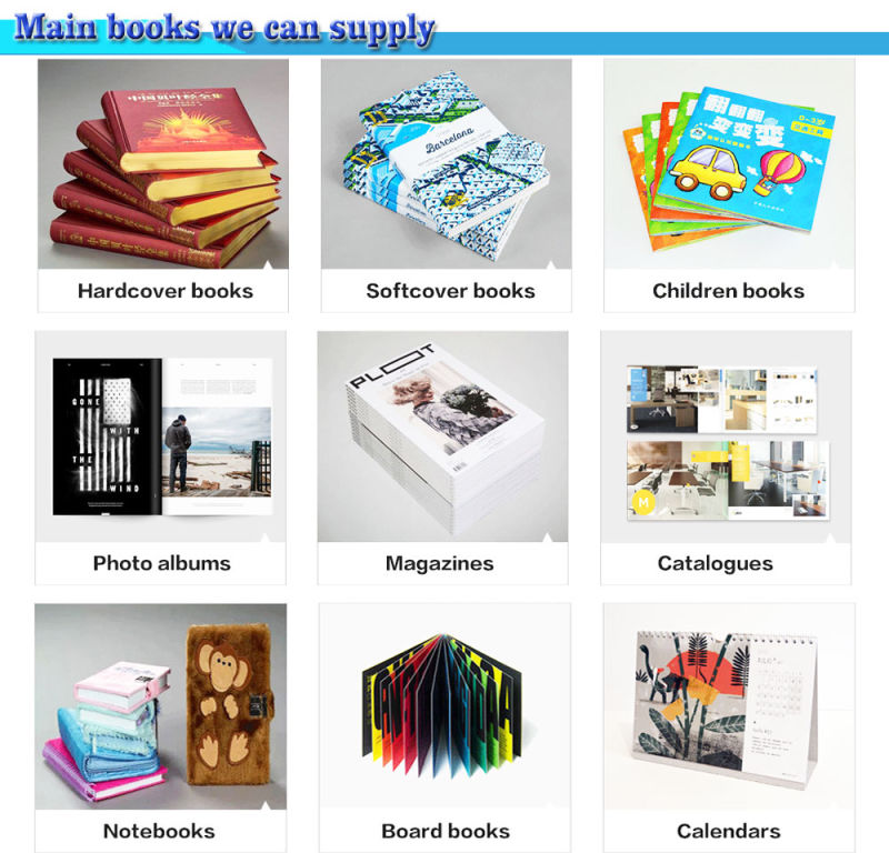 Book printing service cheap comic book printing full color softcover book saddle stitching binding