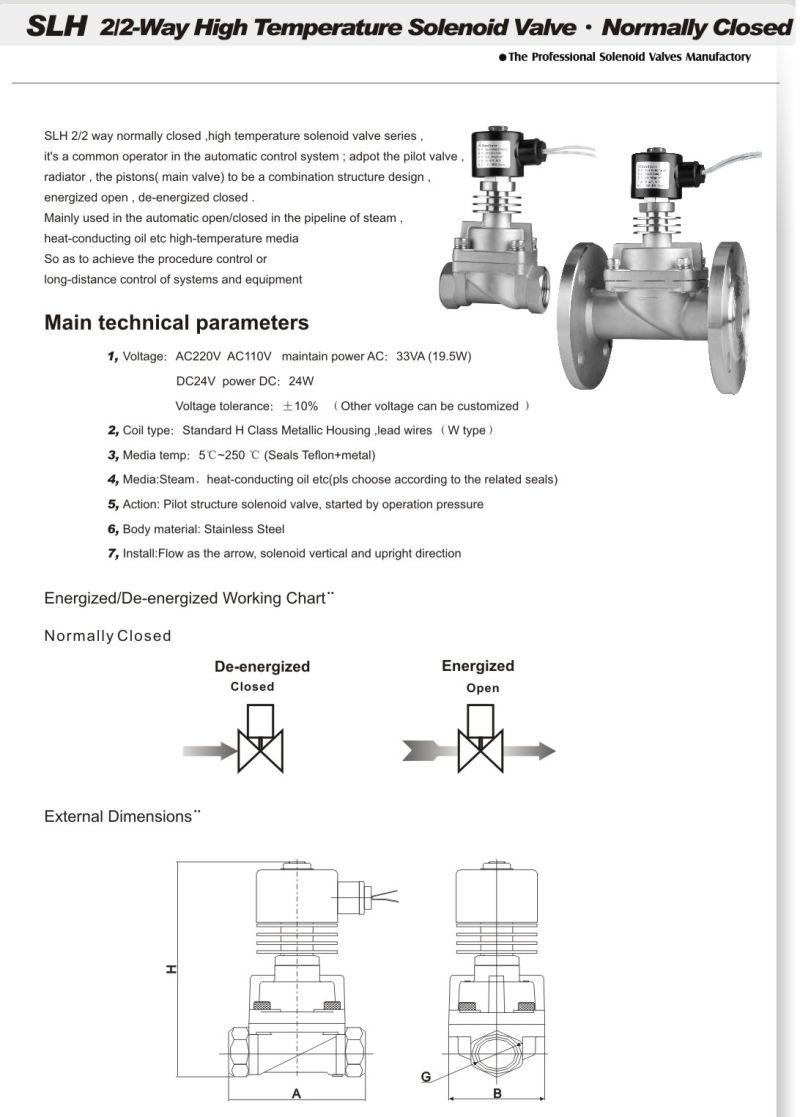 Solenoid valve: description, types, application 23
