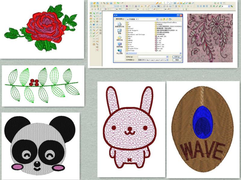 Wonyo Emcad bordado de Software de sistema de diseño de patrón ...
