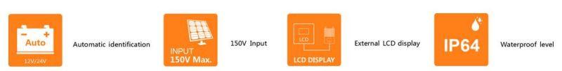 12/24V 10A LCD MPPT Regulator/Solar Charge Controller (QW-MT10A)