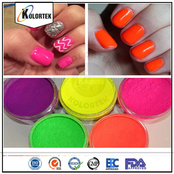 China Fluorescent Pigment Powder, 11 Colors Neon Pigment for Nail ...