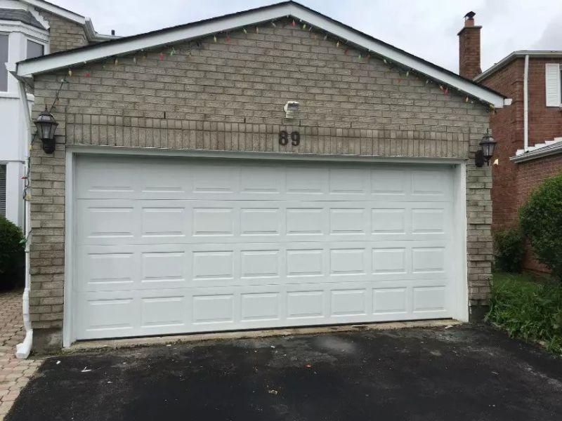 Insulated Sandwich Panel Garage Door With Opener