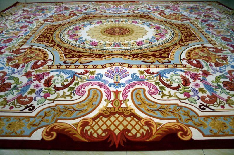 China Wool Carpet Handtufted China Wall To Wall Carpet
