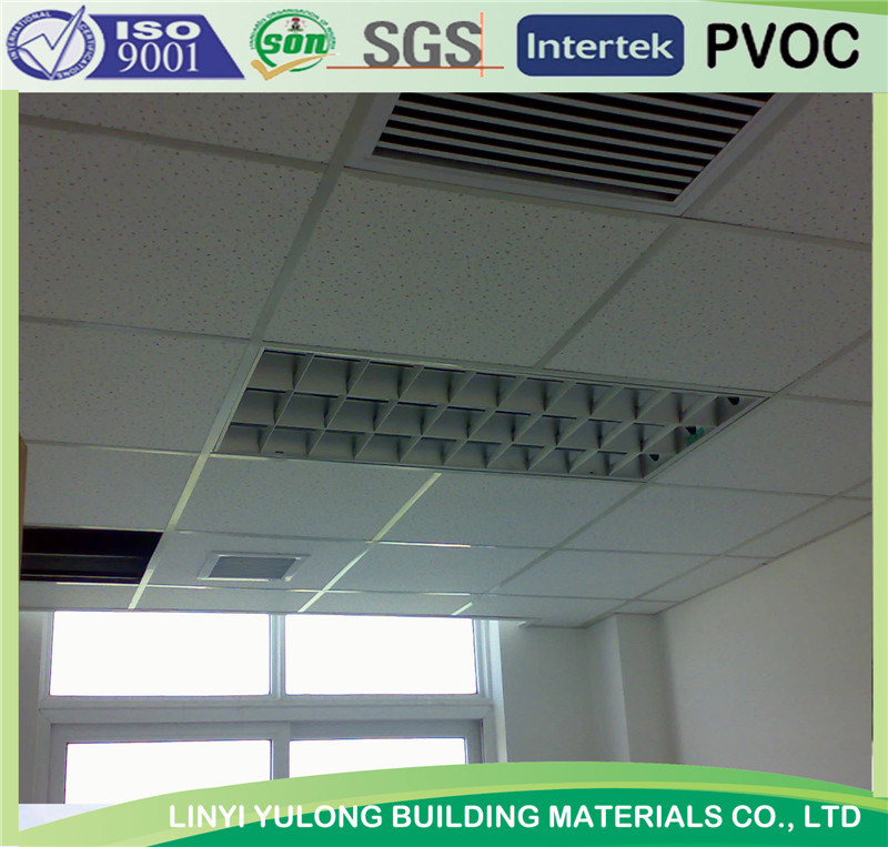 Suspended Ceiling T Bar Grid For Mineral Fiber Tile