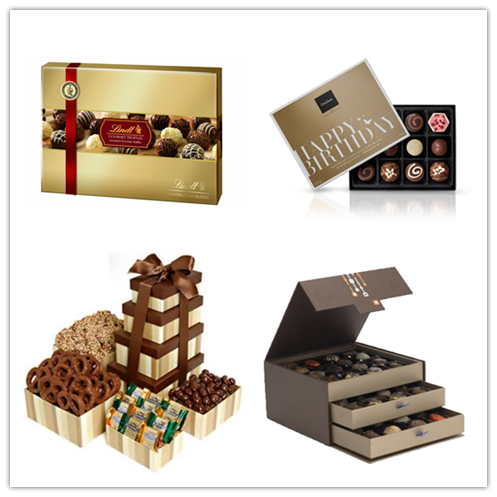 Creative Chocolate Box With Tray And Ribbon