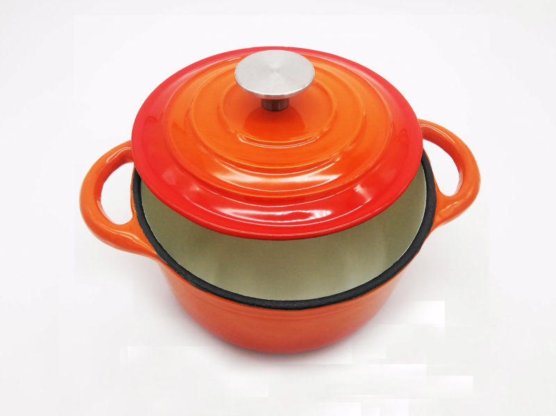 casserole en fonte 2 7l dia 22cm bsci lfgb approuv e par. Black Bedroom Furniture Sets. Home Design Ideas