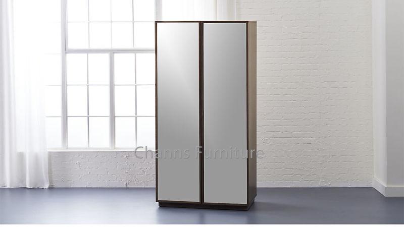Armoire en bois mdf de haute qualité armoire avec miroir de sortie