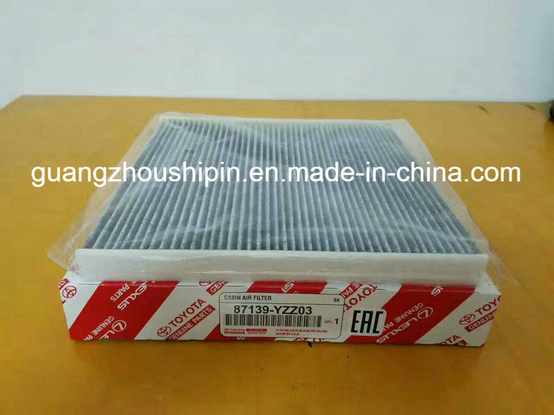 Japan Car Cabin Filter For Toyota (87139 YZZ03)