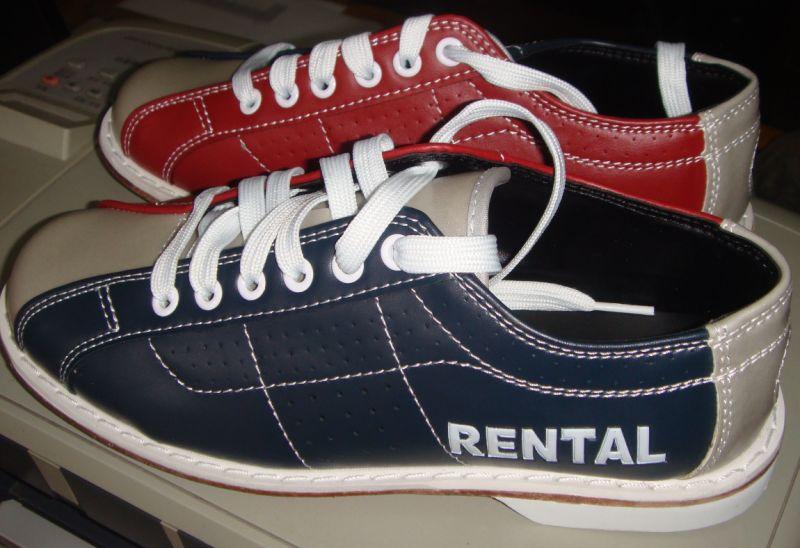 Cuero Bolos Alquiler Zapatos De Genuino nOyvwPmN08