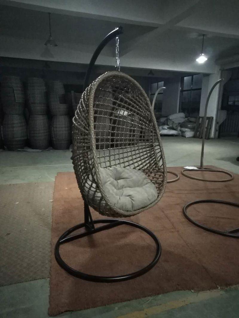 Egg Stoel Hangend.Het Openlucht Hotel Van De Tuin Ontwierp De Aangepaste Stoel Van De