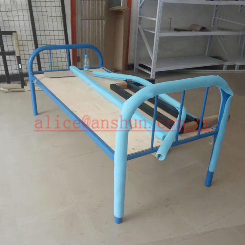 Dormitorio Cama de aterrizaje, el Hostal sola cama de hierro forjado ...