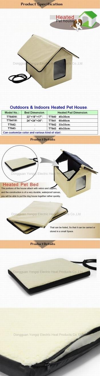 Pet Heating House, Dog Heated House