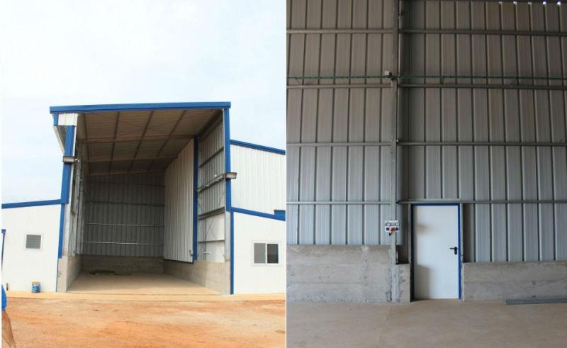 Edificio de acero prefabricada de paneles sándwich – Edificio de ...