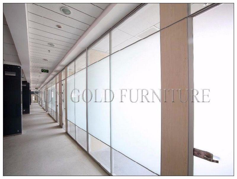 Ufficio In Alluminio Usato : Divisore in vetro del divisorio della parete dellufficio del