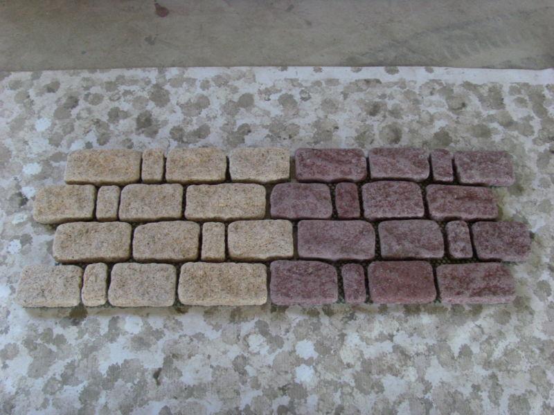 Pietra grigio chiaro del cubo del granito di alta qualità