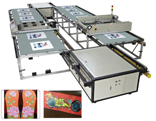 561a019c Spt Custom Automatic Flatbed Silk Screen Printing Machines for Sale at Home