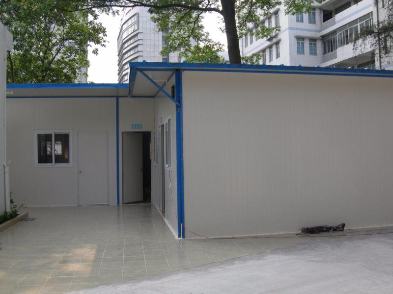 Camera prefabbricata modulare del tetto piano della nonna for Piani casa pa