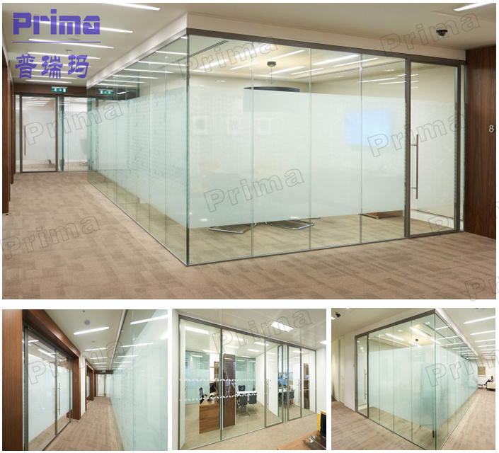 2017 Modern Glass Office Partition Wall